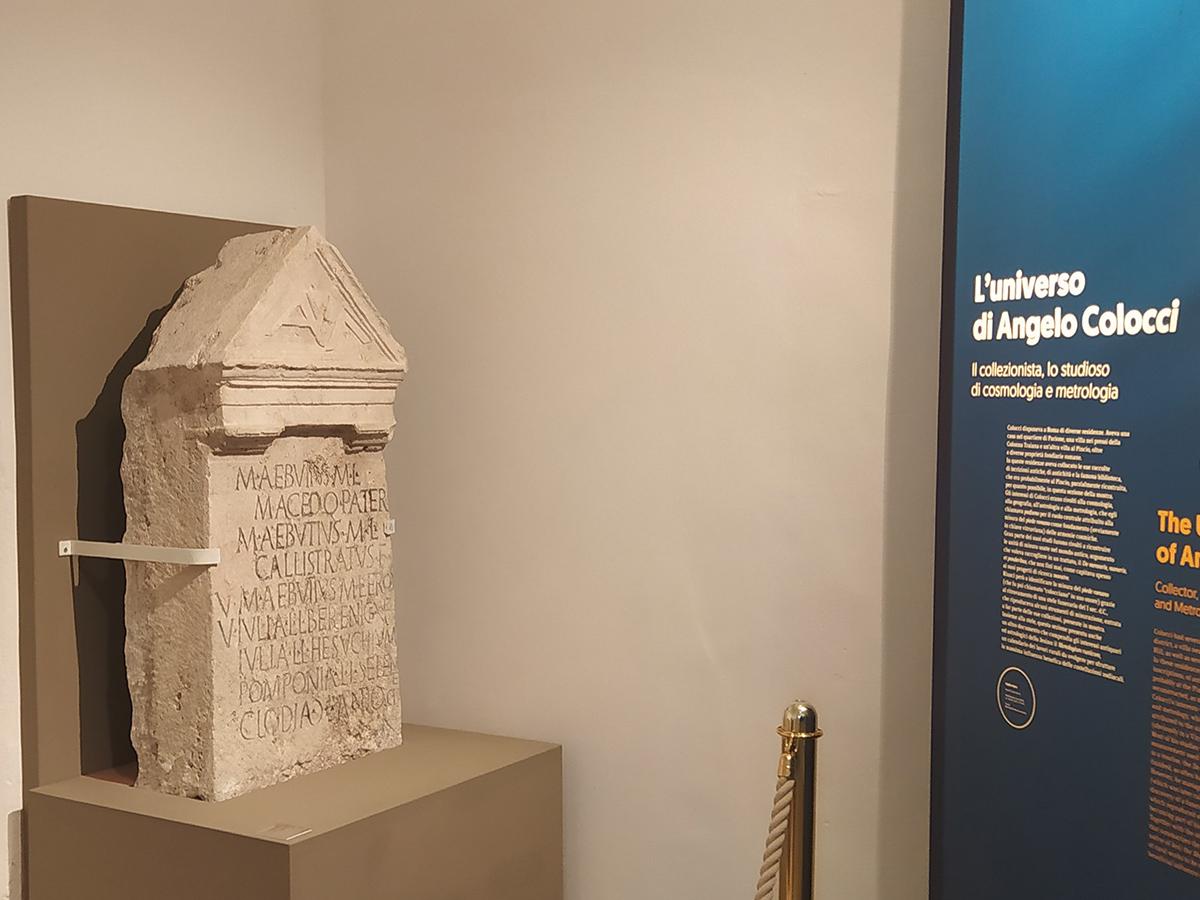 Menologium Rusticum Colotianum -Roma, I secolo d.C.